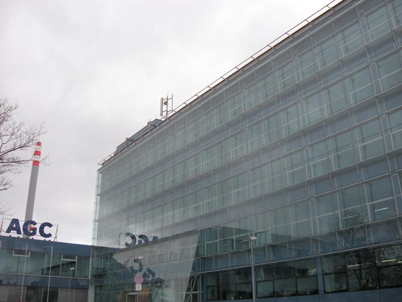 Správní budova agc processing teplice a s